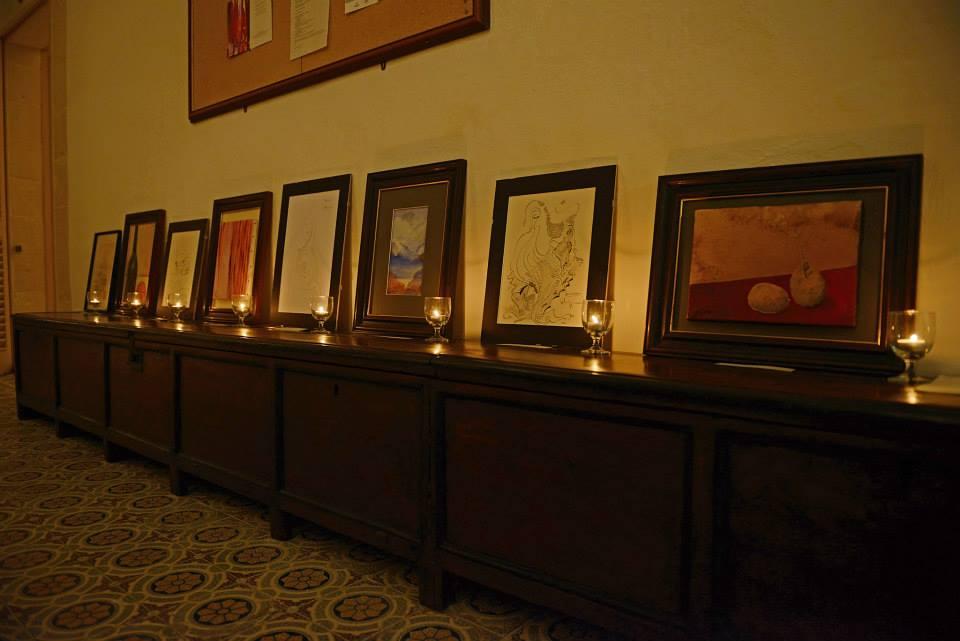 Damian Ebejer's Art Exhibition
