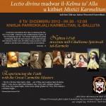 Advert - Lectio Divina