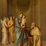 Church Painting - Saint Simon Stock