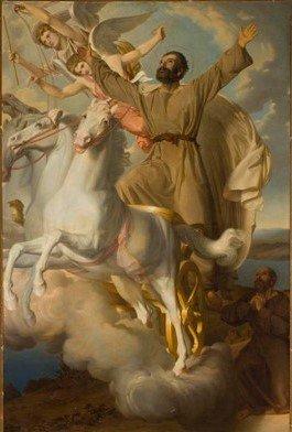 Church Painting - Elijah
