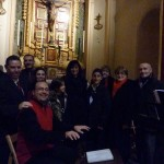 A selection of singers from Voca choir