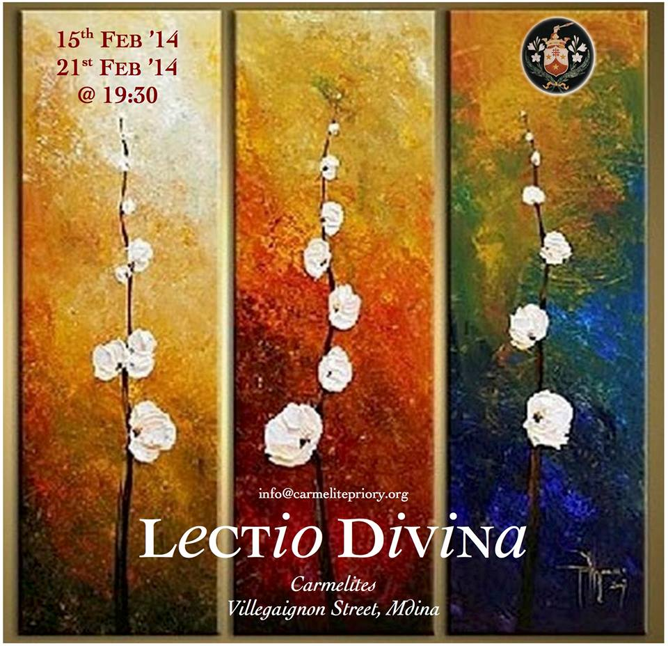 Lectio Divina - Carmelite Priory Mdina