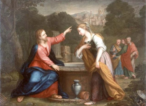Franceschini Giacomo - Gesù e la Samaritana