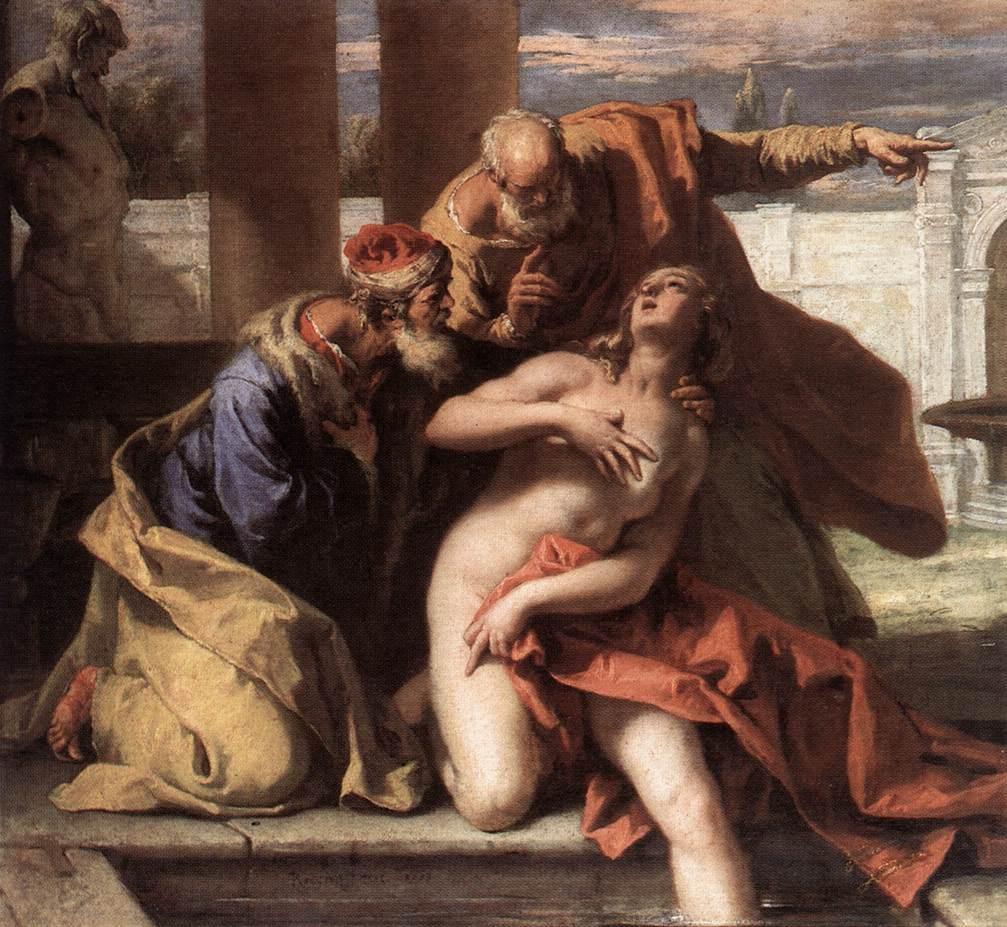 Susanna and the elders -Sebastiano Ricci