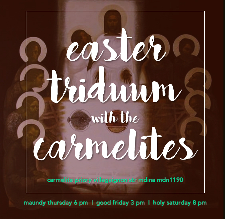 Holy Week is fast approaching    - Carmelite Priory