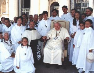 Ma' pellegrinaġġ fl-2001